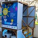 "A toilet, conveniently situated near the Student Union Bar at the University of the West of England (UWE Bristol), is proving pee can generate electricity.   The prototype urinal is the result of a partnership between researchers at UWE Bristol and Oxfam. It is hoped the pee-power technology will light cubicles in refugee camps, which are often dark and dangerous places particularly for women.   The technology that converts the urine into power sits underneath the urinal and can be viewed through a clear screen.  Andy Bastable, Head of Water and Sanitation at Oxfam, says, ""Oxfam is an expert at providing sanitation in disaster zones, and it is always a challenge to light inaccessible areas far from a power supply. This technology is a huge step forward. Living in a refugee camp is hard enough without the added threat of being assaulted in dark places at night. The potential of this invention is huge.""  Read more about this amazing invention.  Photo: Oxfam and UWE"