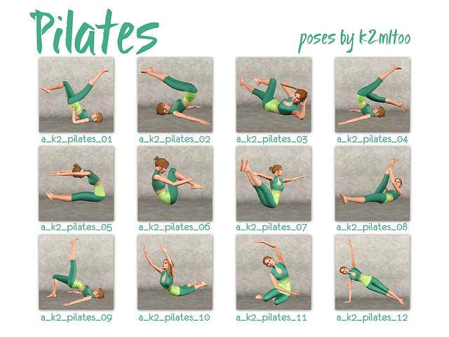 Pilates Contact Sheet