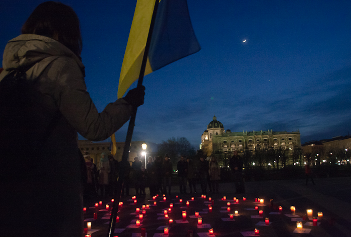 "Remembering the Maidan's ""Heavenly Hundred"" in Vienna"