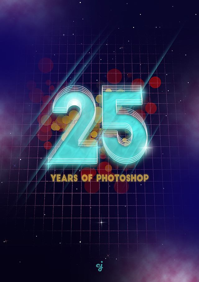 25 Years of Photoshop design