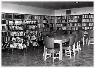 Library at the Jewish Community Centre 1955