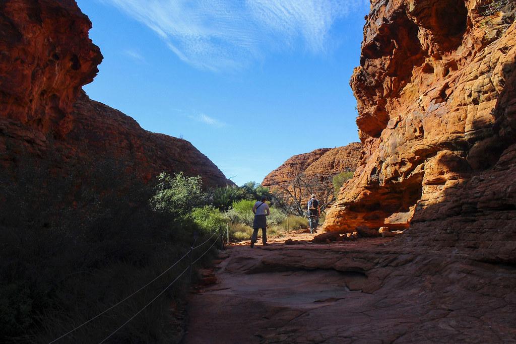 Kings Canyon, en af de største naturoplevelser i Australien