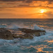 Raging Sunrise by Bryan O'Toole