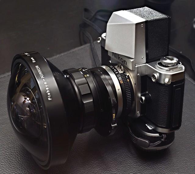 Nikon Nikkor 8mm f/2.8 AIS Circular Fisheye 2.8