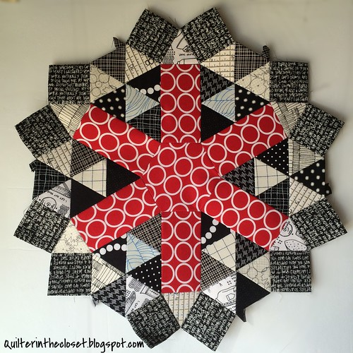 EPP project from QuiltCon class with Katy Jones