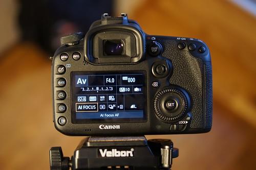 Canon EOS 7D Mark II   greičiausio DSLR testas?