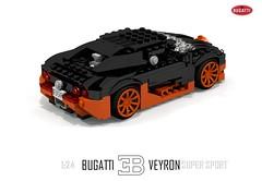 Bugatti Veyron Super Sport (1:24)