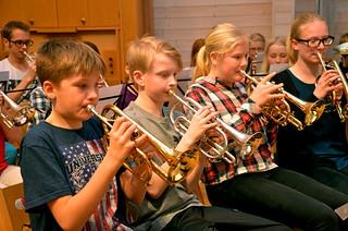 Solokornetter i Framåt Brassbandet