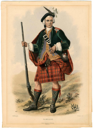 002-Clans of the_ScottishHighlands-1847-Plate 002-The Metropolitan Museum of Art-Thomas J. Watson Library
