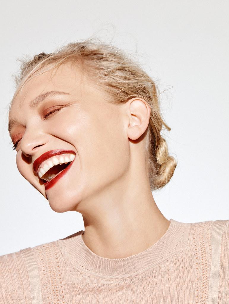 Джемма Уорд — Фотосессия для «Elle» AU 2016 – 1