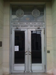 Doorway Lauderdale County Courthouse Meridian, Miss.