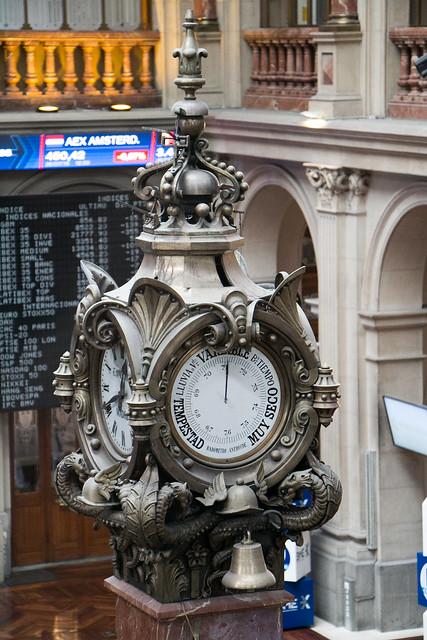 Bolsa de Madrid - Barómetro