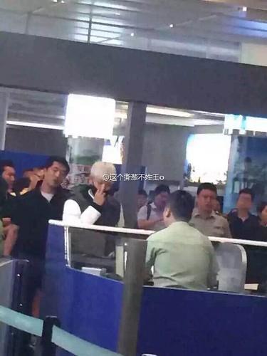 BIGBANG GDTOPDAE arrival Hangzhou 2015-08-25 149
