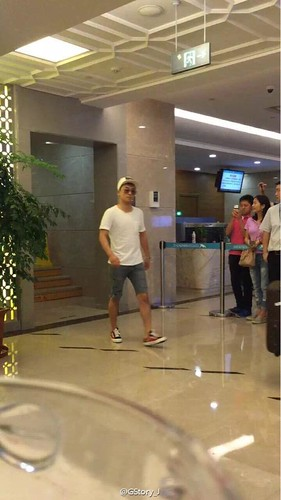 BIGBANG lArrival Shenzhen from Seoul 2015-08-07 048