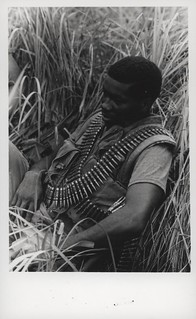 Charley Ascew Takes a Break in Tall Grass, August 1968