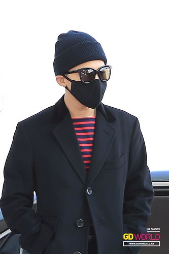 Big Bang - Incheon Airport - 01apr2015 - G-Dragon - GD World - 03