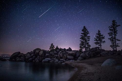 Lake Tahoe Meteors