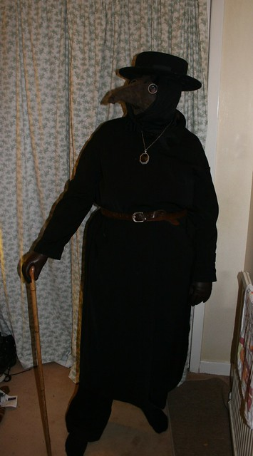 Plague Doctor Costume 2014
