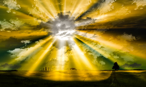 road sunset sky cloud sun nature field grass weather illustration way landscape place path fineart digitalart fantasy environment sunrays photoart bangladesh dhakadivision sreenagarupazila