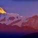 Glowing Annapurna Mountain Massif at Sunrise. by golam_siddiqui