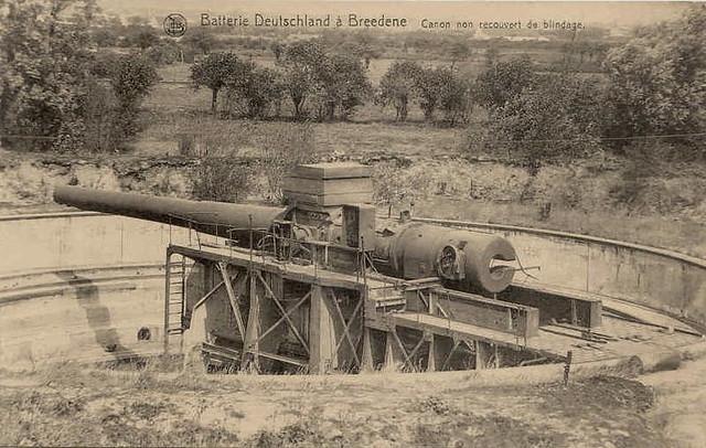 Battery Deutschland 4 x 38 cm SKL/45, Bredene, Belgium