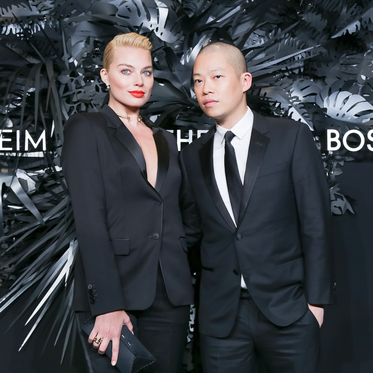 Margot Robbie and Jason Wu