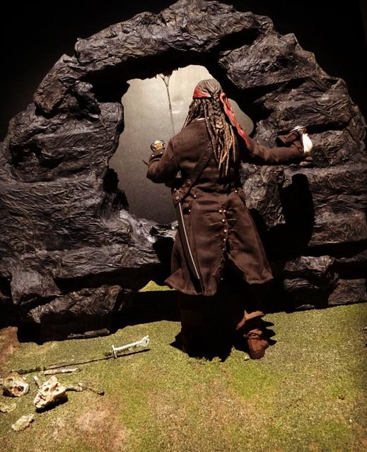 【玩具人'Ken.H'投稿】神鬼奇航4神秘不老泉場景製作