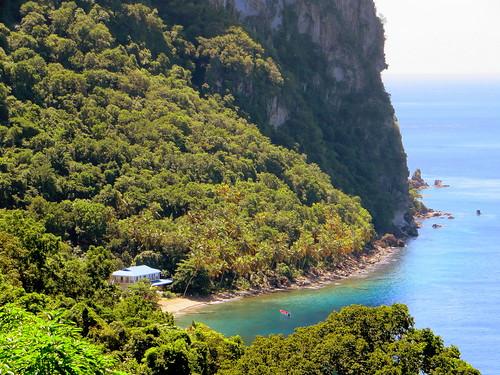 caribbean stlucia westindies pitons petitpiton stonefieldestate