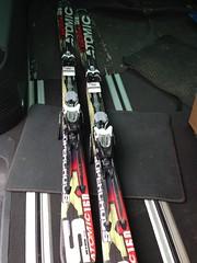 Sjezdové lyže Atomic Supercross SX9 - 160cm - titulní fotka