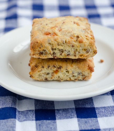 Sausage and Cheese Biscuits