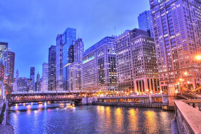 City that Glows
