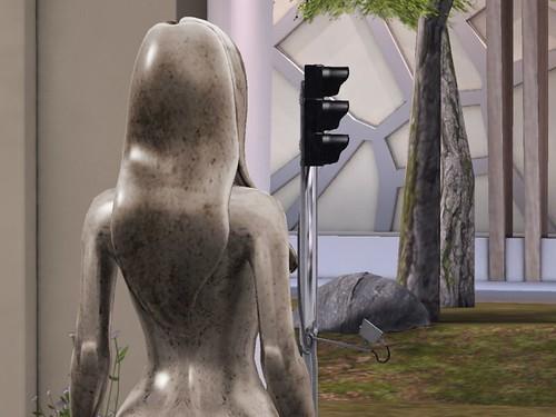 DAY TWENTY-ONE: Statue