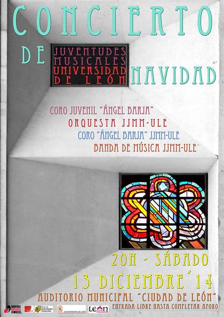 CONCIERTO NAVIDAD JUVENTUDES MUSICALES-UNIVERSIDAD DE LEÓN 2014
