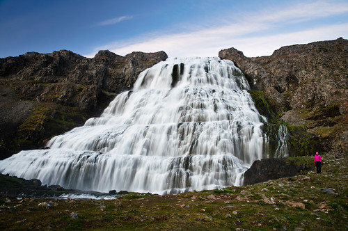 summer nature waterfall iceland hike magical bridalveilfalls westfjords dynjandi selfdrive extremeiceland davidvarga