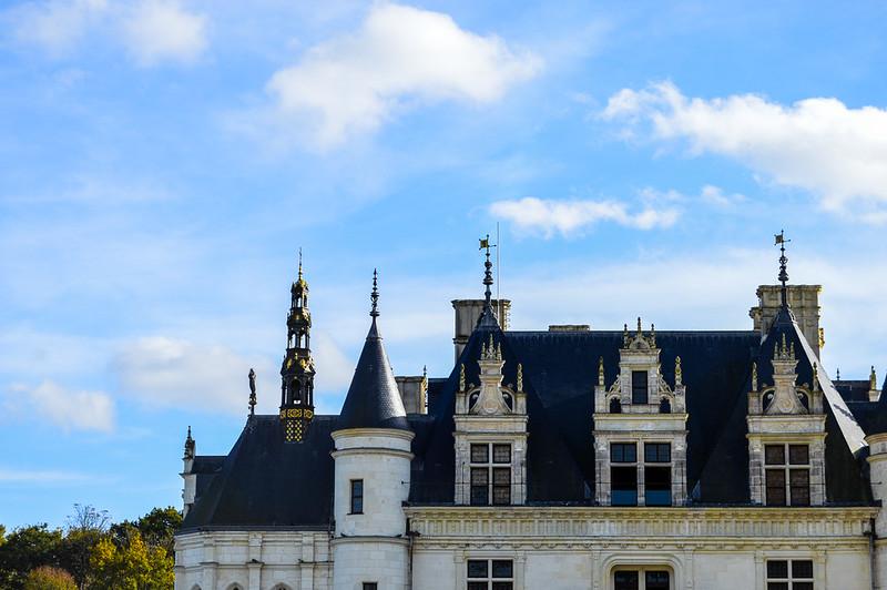 Château de Chenonceau Roof