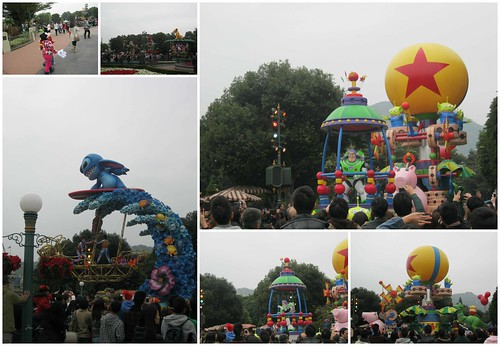 Parade in HK Disneyland