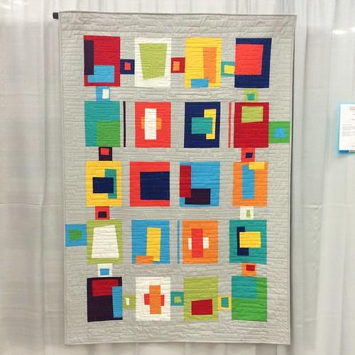 Blocks from the Crayon Box by Carolyn Griffith (Abilene, Texas)