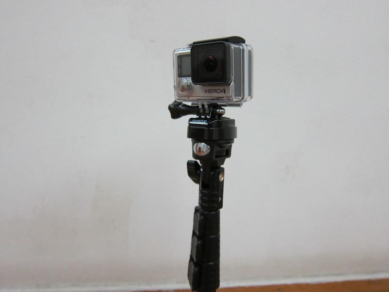 YunTeng Monopod Selfie Stick - With GoPro HERO4 Black Edition
