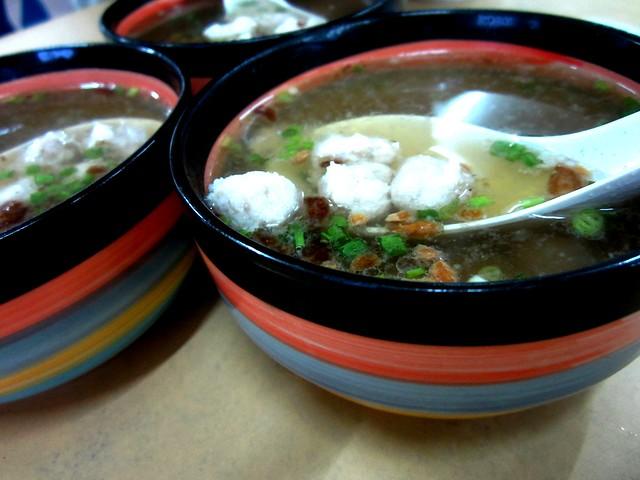 Moi suong meatball soup 1