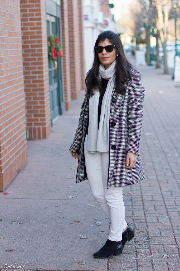 houndstooth coat, white denim, glitter booties-1.jpg