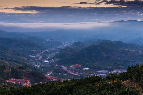 sunrise dawn taichung 台中 大坑 日出 tanzi 潭子 領袖山莊 聚興
