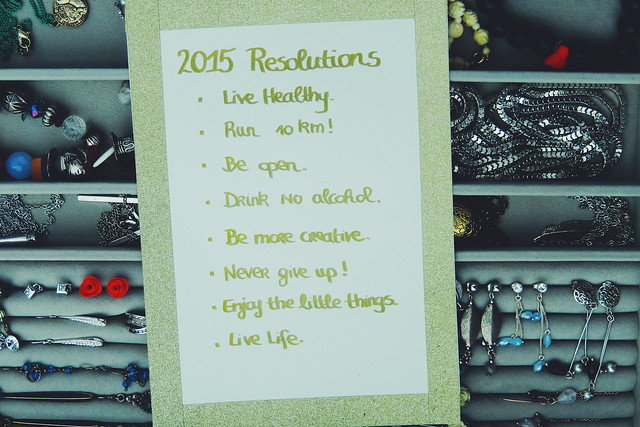 Resolutions 2015