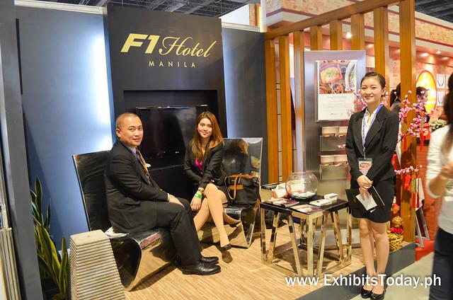 F1 Hotel Manila Exhibit Stand