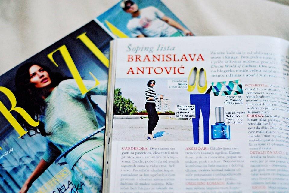 Šoping lista Branislave Antović u magazinu Grazia