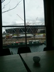 View from Counter Café. Blimey, this area really has transformed.