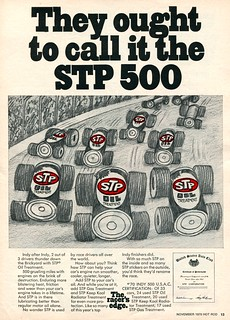 1970 STP Motor Oil Advertisement Hot Rod November 1970