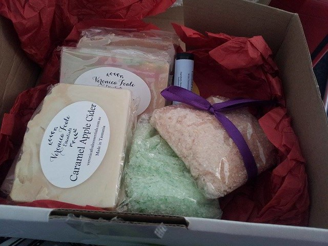Veronica Foale everyday essentials subscription soap box