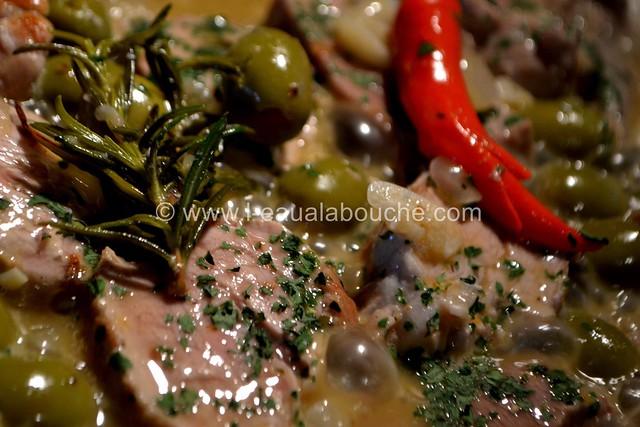 Filet Mignon aux Olives © Ana Luthi Tous droits réservés