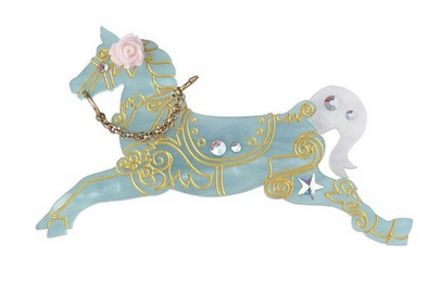 tatty devine carousel brooch