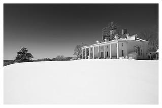Mount Vernon in the Snow
